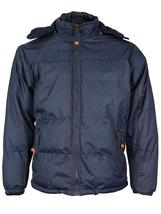 Boys Kids Juniors Heavyweight Puffer Winter Jacket with Removable Hood BIGBEARJR image 5