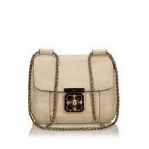 Pre-Loved Chloe Pink Light Others Leather Elsie Crossbody Bag France - $452.54
