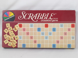 Scrabble 1982 Board Game Selchow & Righter Chieftain 100% Complete EUC - $15.98