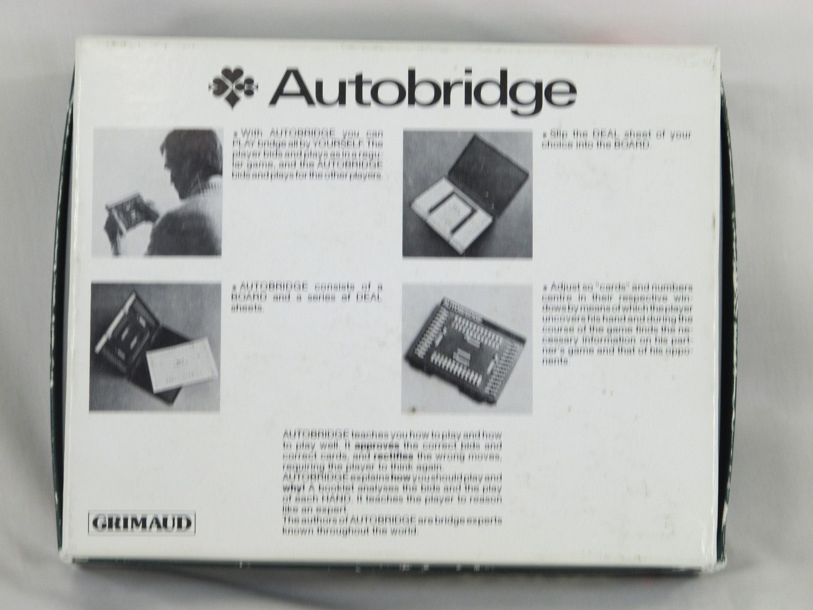 Autobridge Bridge 1985 Intermediate Complete Grimaud 3