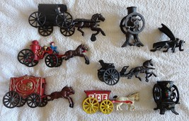 ANTIQUE CAST IRON TOY COLLECTION - $194.99