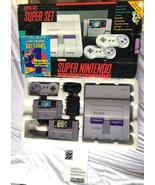 ☆ Super Nintendo System Console Mario All Star World Bundle 2 SNES Games... - $229.00