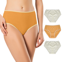 LesaMade Mid-Rise Brief Regular Size S M L XL Cotton Women Underwear - 3... - $27.90