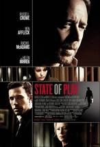 State Of Play 27 x 40 Original Movie Poster 2009 - $9.95