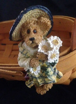 """Boyds Bears """"Bee 2001"""" Longaberger Exclusive -Basket Sitter-New- 2001- R... - $19.99"""