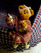 """Boyds Bears """"Peggy Sue"""" Longaberger Exclusive -Basket Sitter-New- 2004- ... - $24.99"""
