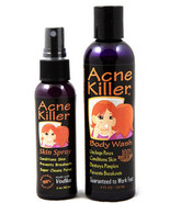 Acne Killer Brand Face and Body Breakout Control Toner & Cleanser Kit - $23.24