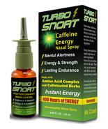 4 BOTTLE DEAL - 5 Hour Turbo Caffeinated Energy Nasal Spray with Taurine - $26.93