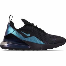 Men's Nike Air Max 270 Casual Shoes Black/Laser Fuchsia/Regency Purple A... - $155.56