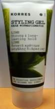 Korres   Lime Styling Gel   150ml - $22.99