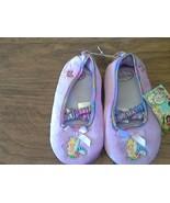 Disney Fairies toddler girl's purple slippers size XL (11/12) - $5.00