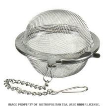 "2"" Stainless Steel Mesh Loose Leaf Tea Infuser Ball - $7.50"