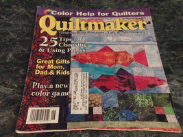 Quiltmaker Step by Step Magazine May June 2003 No 91 Country Baskets Pt 3 - $2.99