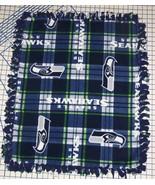 Seattle Seahawks Blanket Plaid Fleece Baby Pet Dog NFL Football Shower Gift - $39.95