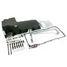 A-Team Performance LS Aluminum Rear Sump Retro-Fit Oil Pan Compatible with Chevr