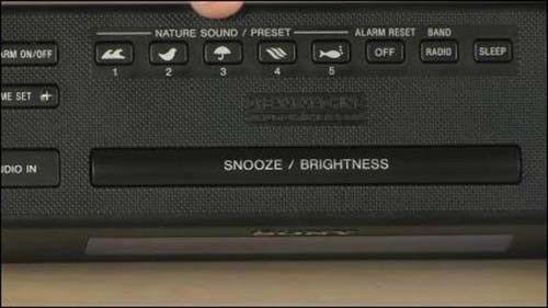 New Sony Dream Machine FM/AM Alarm Clock Radio Built in Audio cable ICF-C707
