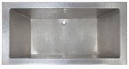 Drop-in Nickel plated Copper Bathtub - $5,900.00