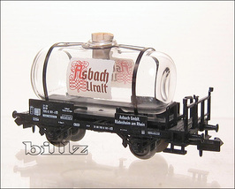 TRiX MINITRIX N 15035 - Glass Asbach-Uralt Brandy Car - $132.50