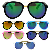 Kids Size Color Mirror Plastic Racer Aviator Sport Designer Fashion Sung... - $9.95