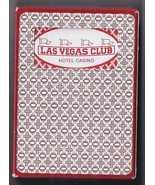 LAS VEGAS CLUB HOTEL CASINO Blackjack 261 Las Vegas Playing Cards, Sealed - $24.95