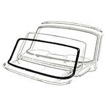 1966-1967 FORD FAIRLANE, MERCURY COMET 2 DOOR HARDTOP BACK GLASS WEATHER... - $62.32