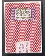 GOLDEN NUGGET Hotel Las Vegas Playing Cards, Used & Sealed - $4.95