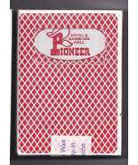 PIONEER Las Vegas Playing Cards, Red Used & Sealed - $5.95