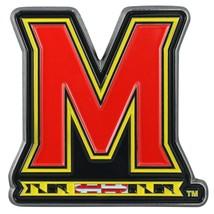 Fanmats NCAA Maryland Terrapins Diecast 3D Color Emblem Car Truck 2-4 Day Del. - $10.64