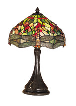 "Meyda Home Indoor 18""H Tiffany Hanginghead Dragonfly Accent Lamp 1235-28460 - $376.20"