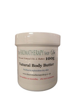 Natural Body Butter 100g tub / Fragrance Free - $6.03