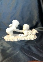 "Dept 56 Snowbabies "" Help me, I'm stuck! # 6817-9 in original box-MINT - $19.00"