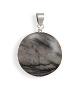 Black and White Jasper Pendant - $14.99