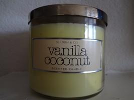 Bath & Body Works Slatkin & Co.VANILLA COCONUT Scented Candle 14.5 oz - €87,18 EUR