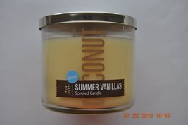 Bath & Body Works Slatkin & Co. Coconut Summer Vanillas Scented Candle, ... - €88,07 EUR