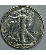 1943 S Walking Liberty silver half dollar AU details - €23,22 EUR
