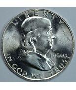1960 P Franklin uncirculated silver half dollar - €16,97 EUR
