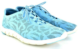 Cole Haan Zero Grand Women's Blue Perforated Trainer Leather Sneaker Sz 10 B - $53.51