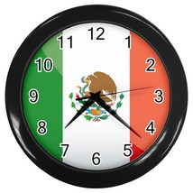 Mexico Custom Black Wall Clock - $19.95