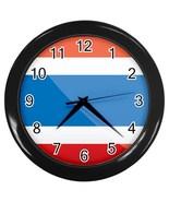 Costa Rica Custom Black Wall Clock - $19.95