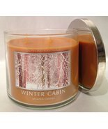 Bath & Body Works Slatkin & Co. WINTER CABIN Scented Candle 14.5 oz/411 g - £90.36 GBP