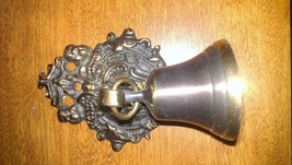 "Ornate brass entry alert door Bell for home or business 5 1/2"" x 3 1/2"" - $24.99"