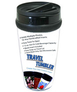 12 oz. Photo Travel Tumbler NEW - $9.94