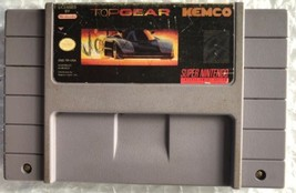 ☆ Top Gear 1 (Super Nintendo 1992) SNES Authentic Game Cart Tested Works ☆ - $16.00