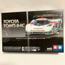 Tamiya 1/24 Sports Car Series No.289 TOYOTA TOM'S 84C #36 Assembly Plast... - $68.78