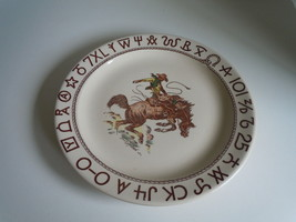 Wallace Rodeo Dinner plate image 1