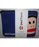 "NEW PAUL FRANK JULIUS TOP ZIP NEOPRENE 15"" MACB... - $26.68"