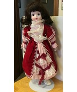 Kathleen Sue Musical Porcelain Doll 16 Inches - $23.36