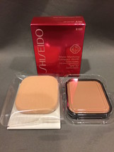 NIB Shiseido Sheer Matifying Compact Foundation Refill B100 Very Deep Beige - $18.66