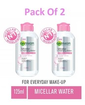 Garnier Skin Naturals, Micellar Cleansing Water,Make Up Remover  125ml 2... - $18.70