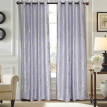 Gray Window Treatment Curtain Panel Semi Blackout Drape DMC720 Dolce Mel... - $75.97